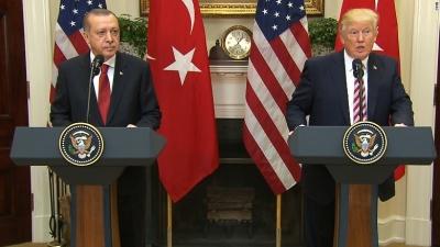 Hurriyet: Ο Trump έλαβε την απόφαση για τη Συρία κατά τη διάρκεια τηλεφωνικής επικοινωνίας με τον Erdogan