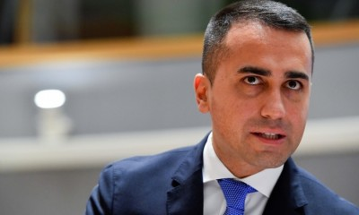 Di Maio: Οι χώρες της ΕΕ να ανοίξουν τα σύνορα για τους Ιταλούς πολίτες στις 15 Ιουνίου