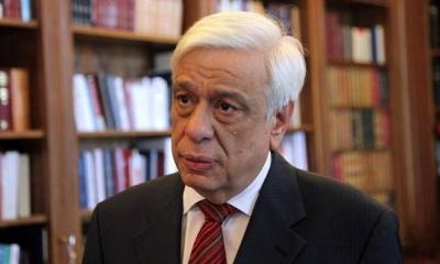 Παυλόπουλος: Πιο ευοίωνες σήμερα οι συνθήκες για την Ελλάδα - Μοχλός ανάπτυξης η ανάκαμψη των εξαγωγών