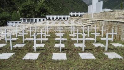 Αλβανία: Στα νεκροταφεία των Ελλήνων πεσόντων ο εορτασμός του «ΟΧΙ»