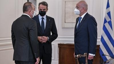 Πιο σημαντικά τα… ταξίδια από τη συνάντηση Μητσοτάκη με Erdogan - Πως είδαν τα τουρκικά ΜΜΕ την επίσκεψη Cavusoglu στην Αθήνα