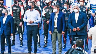 Ράλι Ακρόπολις: Γιατί απομάκρυναν τον Πατούλη από τη φωτογραφία με τον Μητσοτάκη στην επίσημη έναρξη