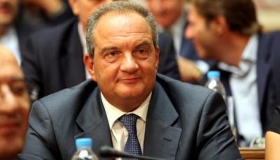 Στη Θεσσαλονίκη ψήφισε ο Κώστας Καραμανλής για τις εσωκομματικές εκλογές της Νέας Δημοκρατίας