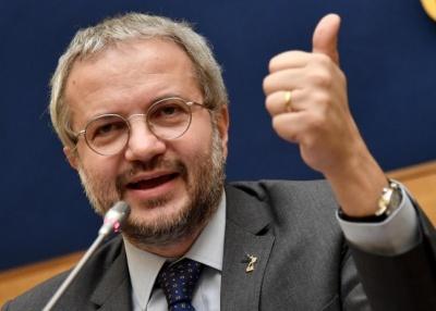 Διαψεύδει ο Borghi (Lega) τις δηλώσεις περί εξόδου της Ιταλίας από την Ευρωζώνη