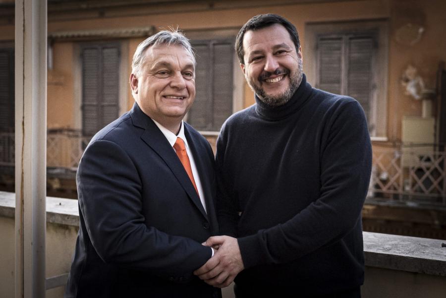 Επαφές Orban - Salvini για δημιουργία νέας πολιτικής ομάδας - Ο ρόλος του ΕΛΚ