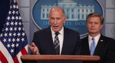 ΗΠΑ: «Διάχυτες απόπειρες» της Ρωσίας να επηρεάσει τις εκλογές για τη γερουσία τον Νοέμβριο του 2018