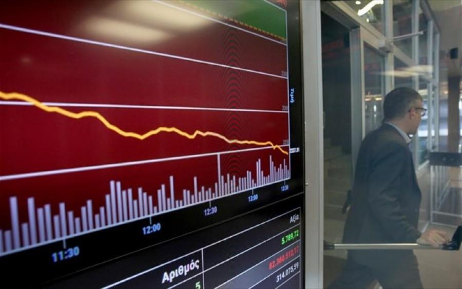 Λίγο μετά το κλείσιμο του ΧΑ – Ρευστοποιήσεις σε μη τραπεζικά blue chips – Παραμένει αρνητική η εικόνα της αγοράς