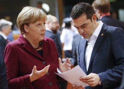 Merkel: Δεδομένη η στήριξη μας στην Ελλάδα για τις προκλήσεις της Τουρκίας - Τσίπρας: Αμοιβαία αποδεκτή λύση για την ΠΓΔΜ