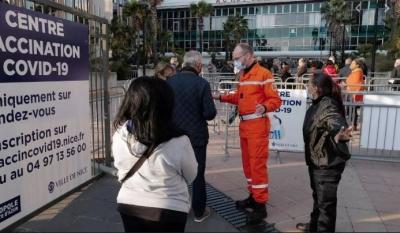 Γαλλία: Άνοιξε το μεγαλύτερο εμβολιαστικό κέντρο στη Νίκαια