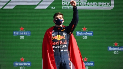 Grand Prix Ολλανδίας: «Πάρτι» για τον Μαξ Φερστάπεν