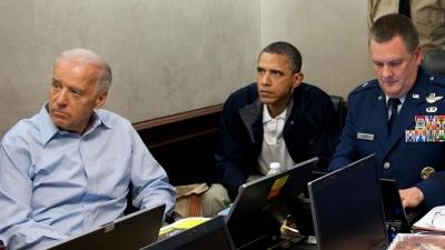 O Biden πλέκει το εγκώμιο του στρατού και του Obama για την επέτειο εξόντωσης του Laden