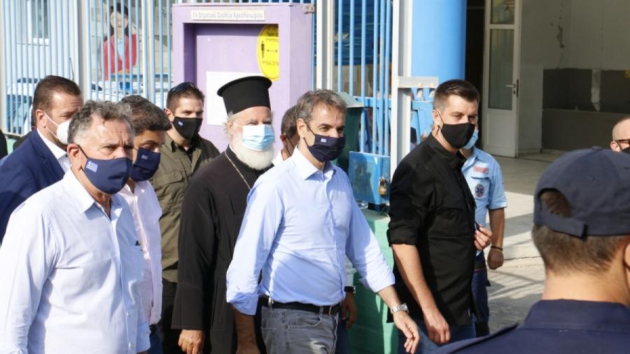 Μητσοτάκης: Άμεσα 20.000 ευρώ σε όσους έχασαν τα σπίτια τους από το σεισμό σητν Κρήτη - Στήριξη σε επιχειρήσεις