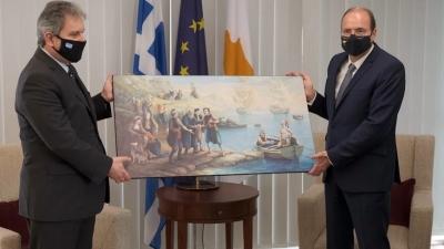 Το δώρο της Κύπρου στην Ελλάδα για τα 200 χρόνια από την Ελληνική Επανάσταση