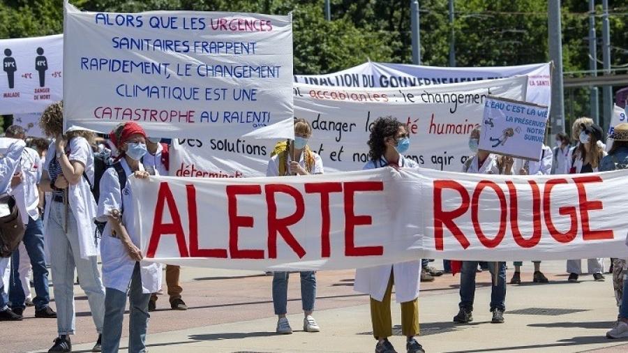 Ελβετία: Γιατροί καλούν τον ΠΟΥ σε παγκόσμια δράση για το κλίμα