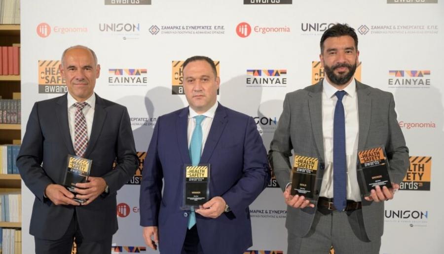 Τέσσερα βραβεία για την Attica Group στα Health & Safety Awards 2021