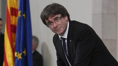 Ο Puigdemont ζητά την έναρξη διαπραγματεύσεων για την επιστροφή μίας «νόμιμης κυβέρνησης»