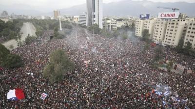 Χιλή: Σχεδόν 600 συλλήψεις στην πρώτη επέτειο της κοινωνικής εξέγερσης