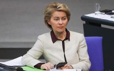 Von der Leyen: Προβληματικό το κλείσιμο συνόρων λόγω της πανδημίας