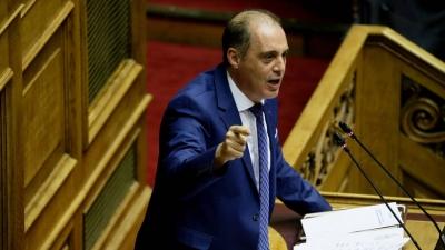 Βελόπουλος: Η κυβέρνηση απέτυχε στη διαχείριση του κορωνοϊού