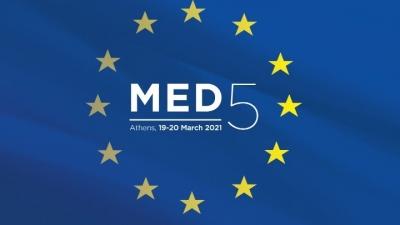 MED5: Σύνοδος Ελλάδας, Ιταλίας, Ισπανίας, Κύπρου και Μάλτας για το Σύμφωνο Μετανάστευσης και Ασύλου