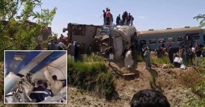 Πρόεδρος Αιγύπτου για σύγκρουση τρένων: Παραδειγματική τιμωρία για τους ενόχους - Πάνω από 30 οι νεκροί, 180 τραυματίες