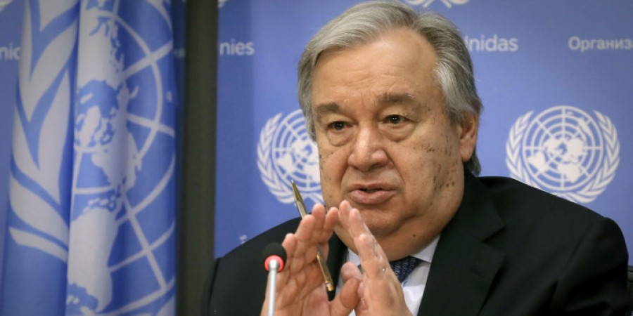 Guterres (ΟΗΕ): Καλούμε όλες τις πλευρές σε αυτοσυγκράτηση μετά την δολοφονία Fakhrizadeh