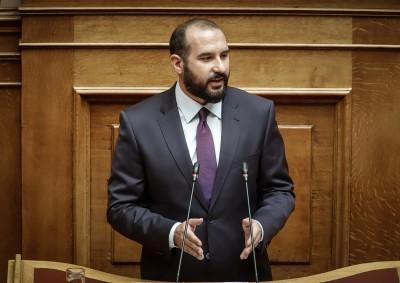Τζανακόπουλος (ΣΥΡΙΖΑ): Η αδράνεια της κυβέρνησης επιτρέπει στον Erdogan να κλιμακώνει την ένταση