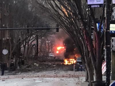 Συναγερμός στις ΗΠΑ: Έκρηξη στο κέντρο του Νάσβιλ – Ζημιές σε κτίρια, τρεις τραυματίες