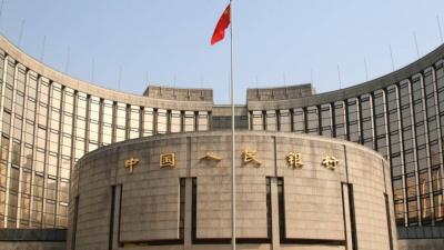 Κεντρική Τράπεζα Κίνας: Ενίσχυση των διαύλων ρευστότητας του τραπεζικού τομέα, για την τόνωση της οικονομίας