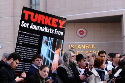 ΗΠΑ: Η Τουρκία να εγγυηθεί την ελευθερία του Τύπου και την ασφάλεια των δημοσιογράφων