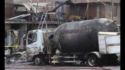 Έκρηξη βυτιοφόρου στην Κίνα με 14 νεκρούς και 168 τραυματίες – Κατέρρευσαν κτίρια