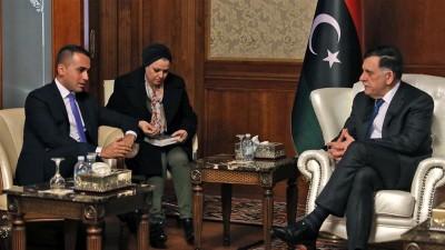 Ταξίδι - αστραπή από Di Maio  (ΥΠΕΞ Ιταλίας) στη Λιβύη για διαβουλεύσεις με τον Sarajj