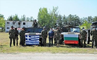 ΓΕΕΘΑ: Συνεκπαίδευση τμημάτων Ειδικών Επιχειρήσεων Ελλάδας και Βουλγαρίας