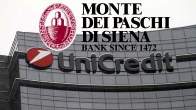 Ιταλία: Αρχές του 2021 η πώληση της Monte dei Paschi στην UniCredit