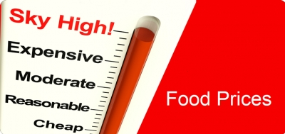 Ανησυχία από το συνεχές ράλι στις τιμές των τροφίμων - Φόβος για πληθωριστικές πιέσεις