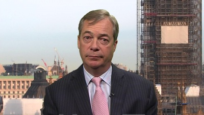 Farage: Δεν θα είμαι υποψήφιος στις εκλογές στις 12/12 - Θα κάνω εκστρατεία για το Brexit