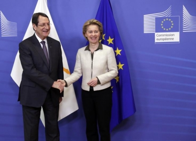 Επικοινωνία Αναστασιάδη - Der Leyen για το Κυπριακό και την άτυπη διάσκεψη του ΟΗΕ