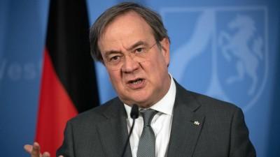 Laschet (CDU): Η Γερμανία δεν θα αφήσει μόνη της την Ελλάδα στο προσφυγικό