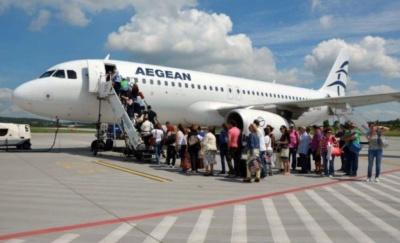 Σημαντική συνεισφορά της AEGEAN στην επέκταση της τουριστικής περιόδου - Άνοδος +11% στην επιβατική κίνηση εξωτερικού σε Αθήνα