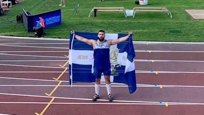 Ευρωπαϊκό Πρωτάθλημα Κ23: Χάλκινο μετάλλιο στη σφαιροβολία o Μουζενίδης!