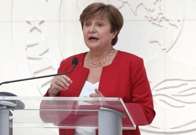 H Georgieva του ΔΝΤ βλέπει σύσφιξη της νομισματικής πολιτικής νωρίτερα του αναμενομένου - Ο ρόλος του πετρελαίου