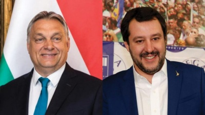 Συνάντηση με πολιτικό νόημα ανάμεσα στον Salvini και τον Orban την ερχόμενη Τρίτη (28/8)