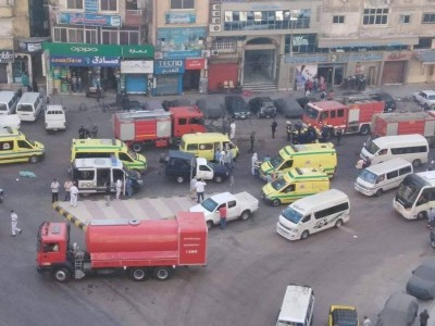 Αίγυπτος: Επτά ασθενείς έχασαν τη ζωή τους από πυρκαγιά σε νοσοκομείο για Covid