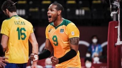 Βόλεϊ ανδρών: Πρόκριση στα ημιτελικά για την Βραζιλία