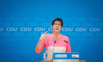 Focus: Η Karrenbauer θα προτείνει τον διάδοχό της στην ηγεσία του CDU στις 24/2
