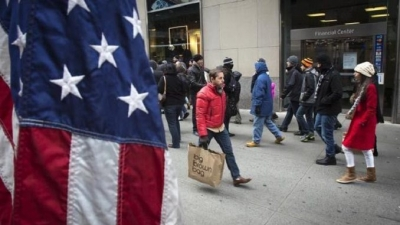 ΗΠΑ: Πρόβλεψη για εκρηκτική άνοδο έως 13,5% στις λιανικές πωλήσεις, στα 4,56 τρισ. δολ. για το 2021