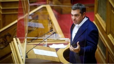 «Όχι» ΣΥΡΙΖΑ στην ελληνογαλλική συμφωνία - Τσίπρας: Να αλλάξουν τα άρθρα 2 και 18