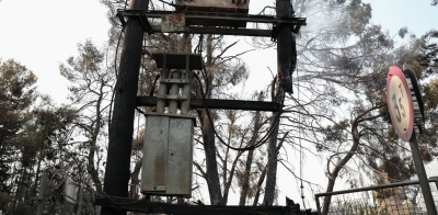 Πως ξέσπασε η φωτιά στη Βαρυμπόμπη; Σκρέκας και ΑΔΜΗΕ διαψεύδουν την έκρηξη σε μετασχηματιστή