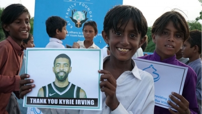Irving: Ο άσος των Nets βοηθάει περισσότερους από 1.000 ανθρώπους στο Πακιστάν να έχουν πρόσβαση σε καθαρό νερό! (video)