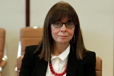 Σακελλαροπούλου από Κύπρο: Δεν θα πάψουμε να υπερασπιζόμαστε τα κυριαρχικά μας δικαιώματα